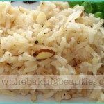 Baked Garlic Rice Pilaf