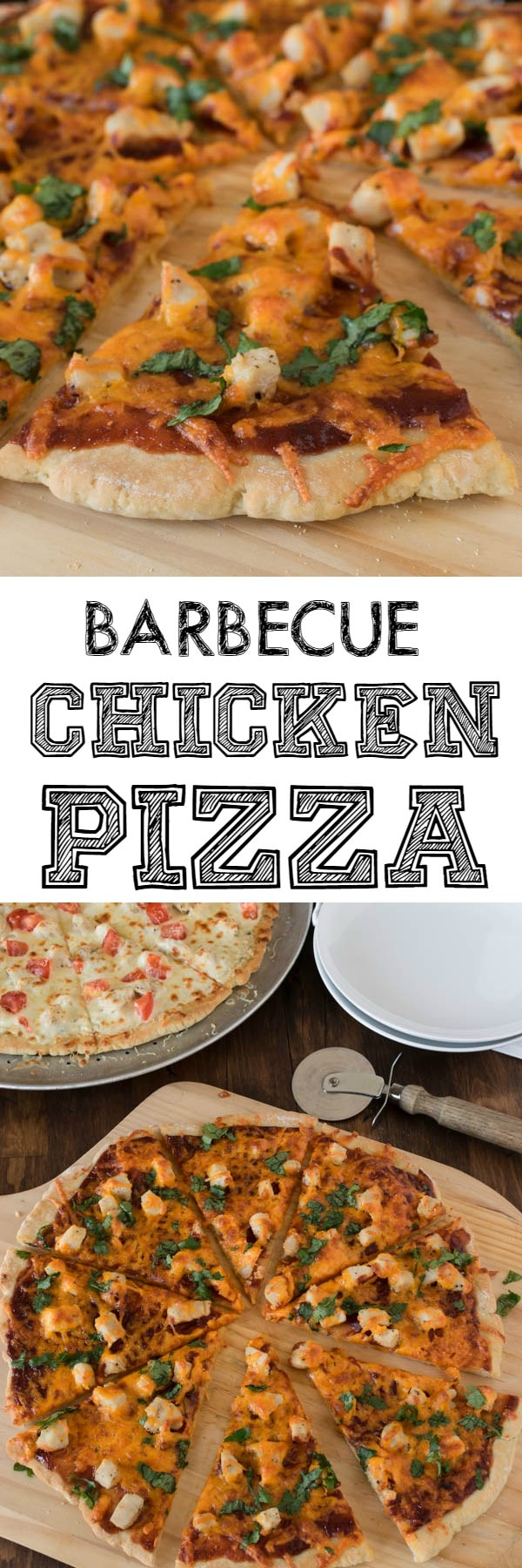 Pizza can be so much more than tomato sauce and mozza cheese. This gluten free Barbecue Chicken Pizza has a great kick, and has become one of our favourite pizzas when we do pizza night.