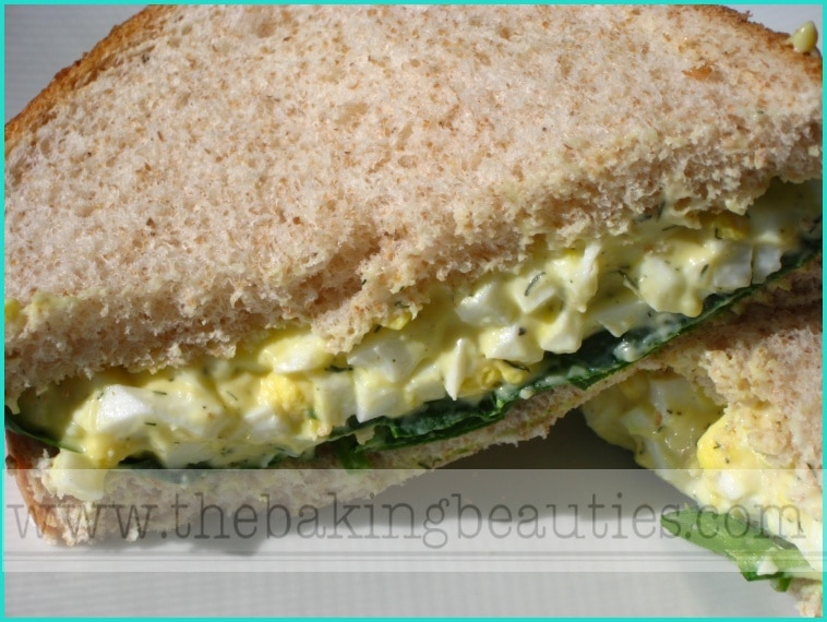 Delicious Egg Salad Sandwiches
