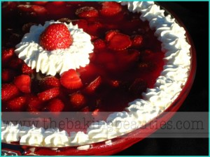 Crustless Strawberry Pie