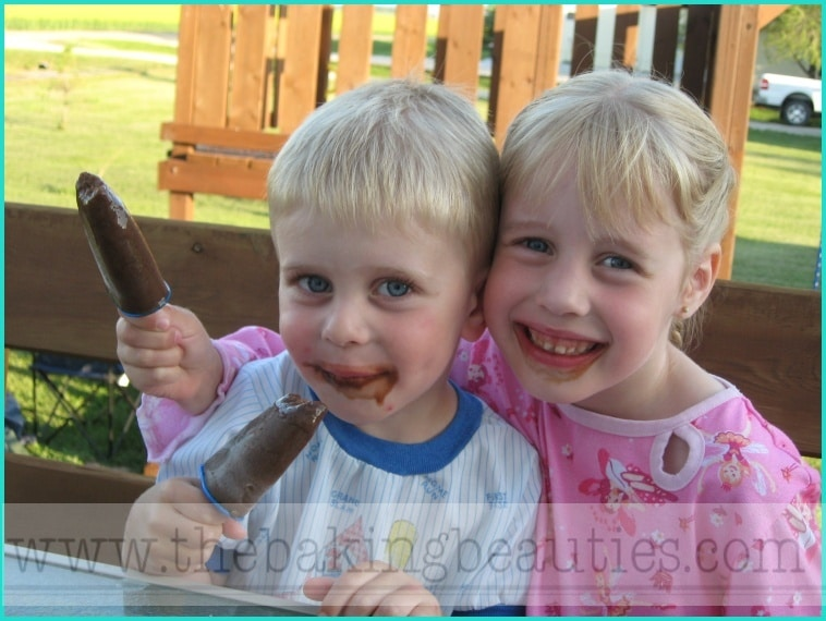 Cool off with Frozen Fudge Pops
