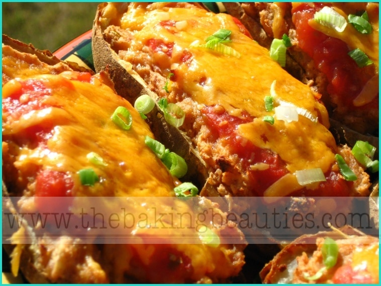 Mexican-Style Baked Potatoes
