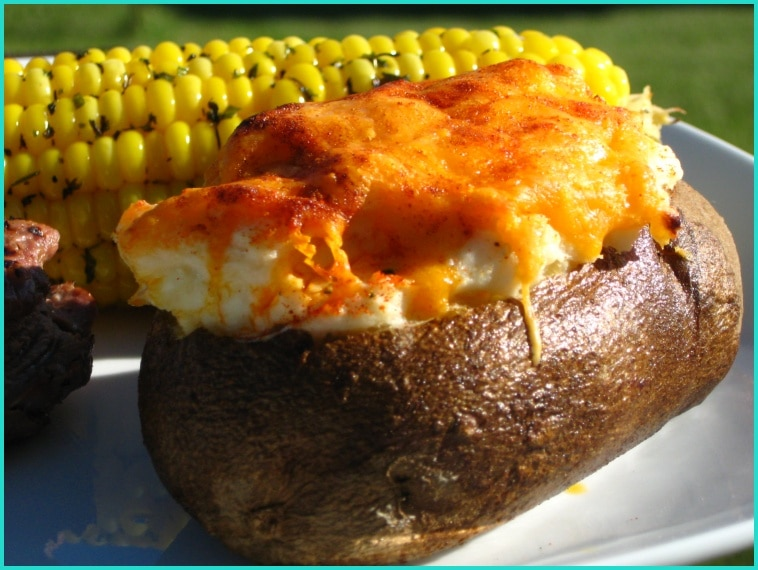 Slow Cooker Stuffed Baked Potatoes