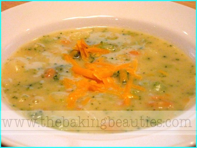 Potato, Broccoli and Cheese Soup