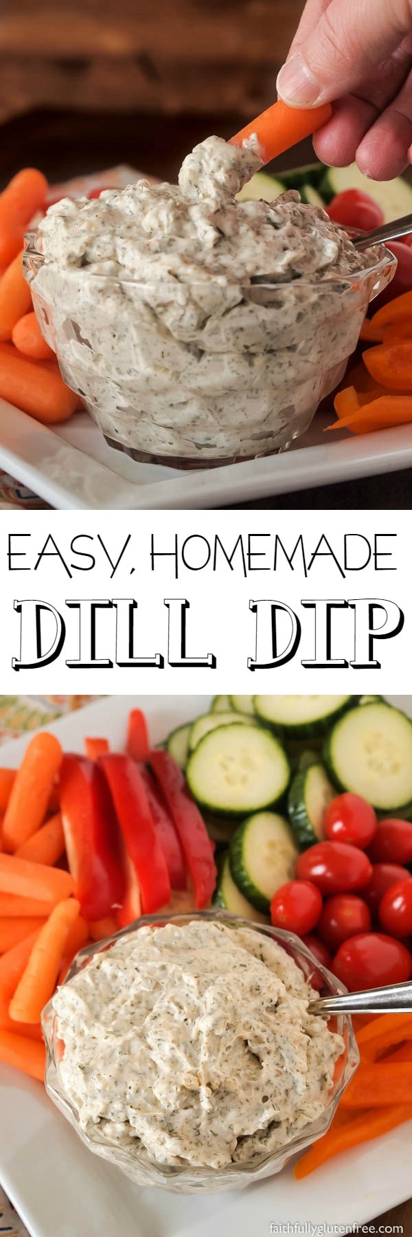Whip up a batch of this easy and delicious homemade Dill Dip the next time you're looking for a dip for your fresh vegetables or your ripple chips. This creamy dip has been our go-to dip for years.