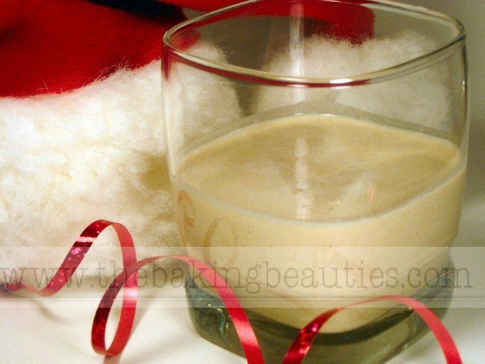 Amazingly Good Homemade Eggnog (without raw eggs) | the Baking Beauties
