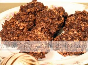 Gluten free No bake Chocolate Oatmeal Cookies