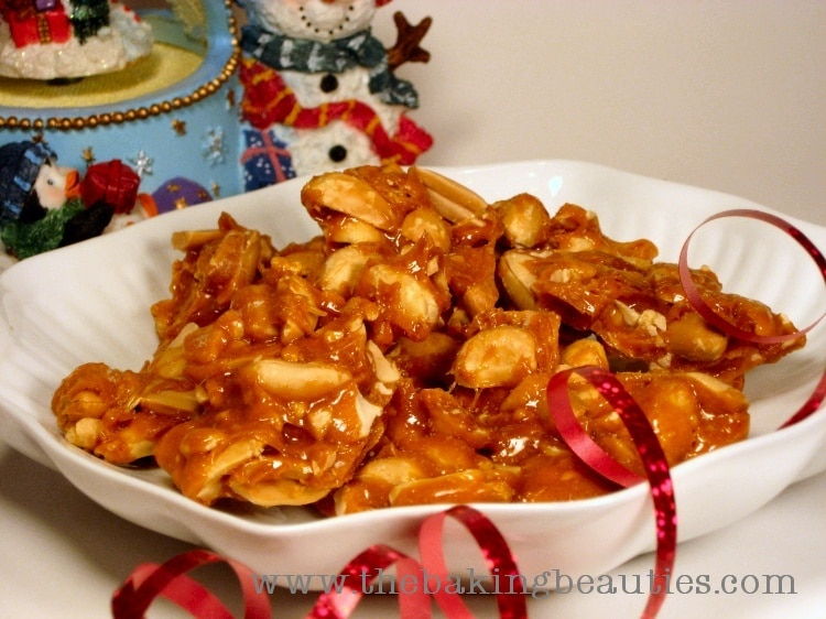 Easy to make - Grandma's Peanut Brittle | The Baking Beauties