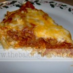 Beef Spaghetti Pie