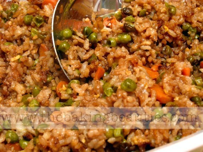 Gluten-free Restaurant-style Fried Rice | The Baking Beauties