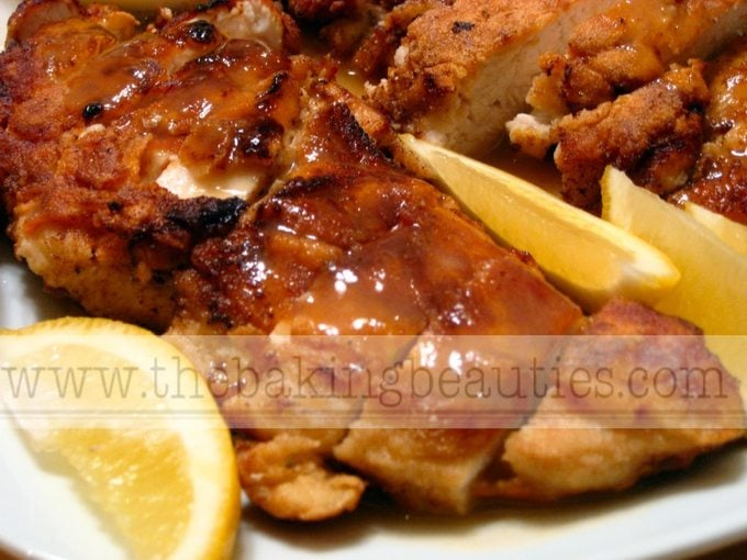 Gluten Free Lemon Chicken | The Baking Beauties