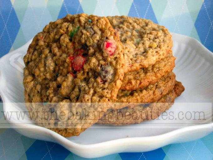 Gluten-free Monster Cookies | The Baking Beauties