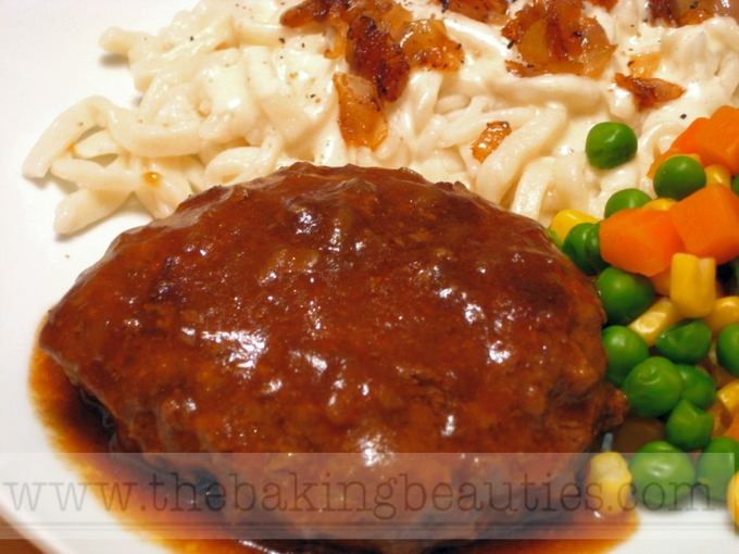 Gluten-free Salisbury Steak | The Baking Beauties