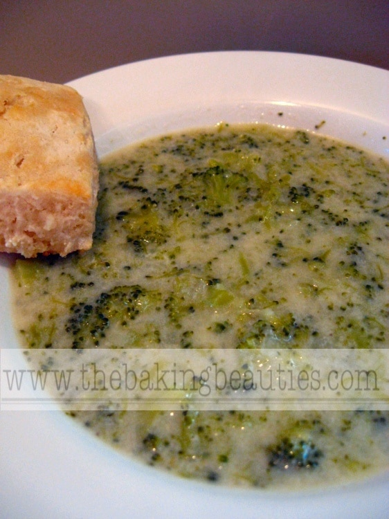 Gluten-free Cream of Broccoli Soup | The Baking Beauties