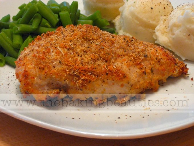 Easy and Delicious Ranch-Parmesan Chicken (gluten-free) | The Baking Beauties