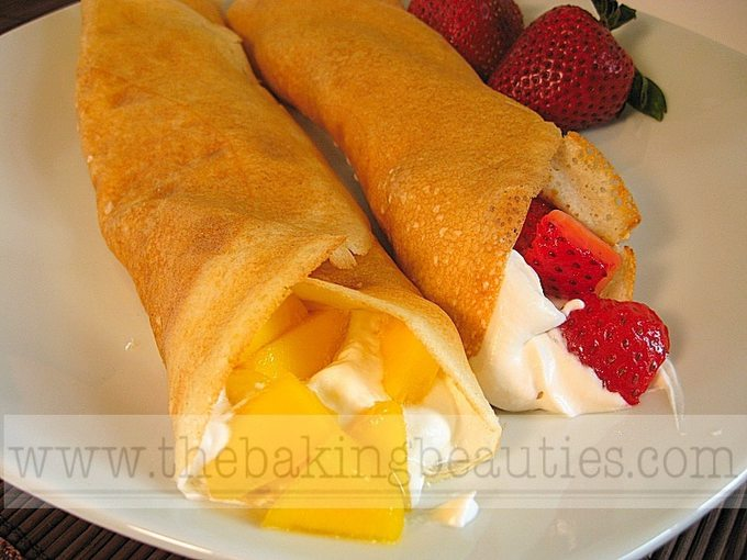 Gluten-free Pumpkin Crepes | The Baking Beauties