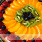 Gluten-free Fruit Pizza | The Baking Beauties
