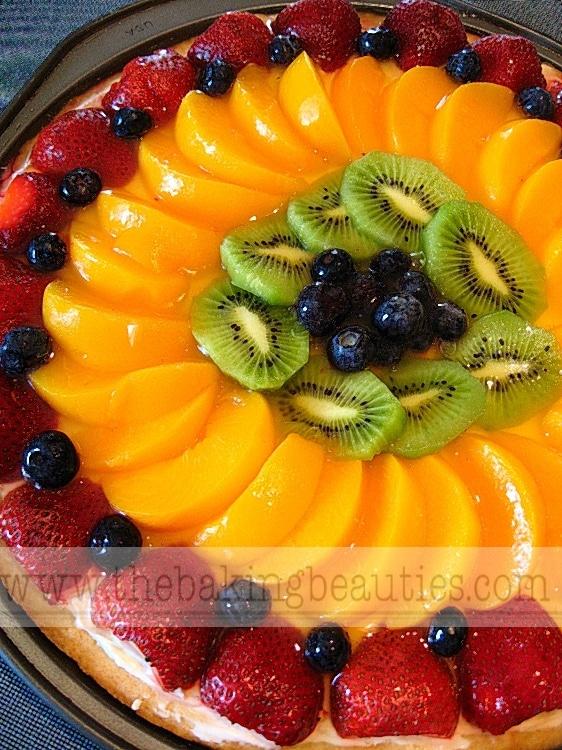 Gluten-free Fruit Pizza | The Baking Beauties