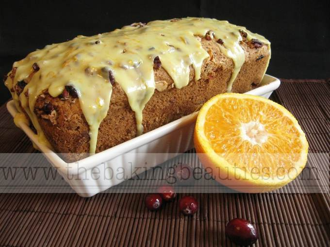 Gluten free Cranberry and Orange Loaf | The Baking Beauties