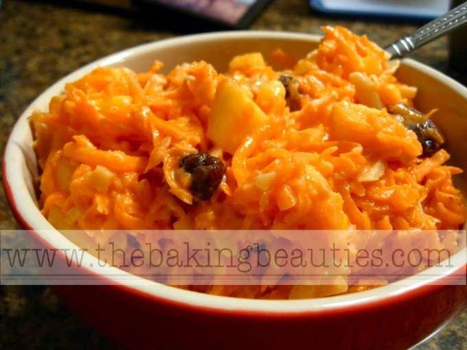Carrot Apple Salad | The Baking Beauties