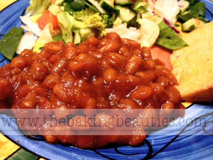 Saucy Gluten-free Baked Beans | The Baking Beauties