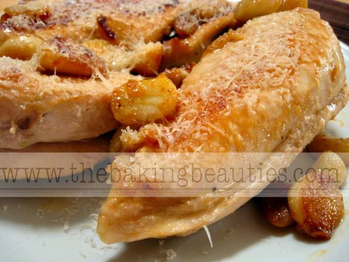 Chicken with 20 Cloves of Garlic - YUM! | The Baking Beauties