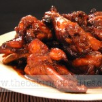 Sweet and Sticky Barbecue Chicken Wings