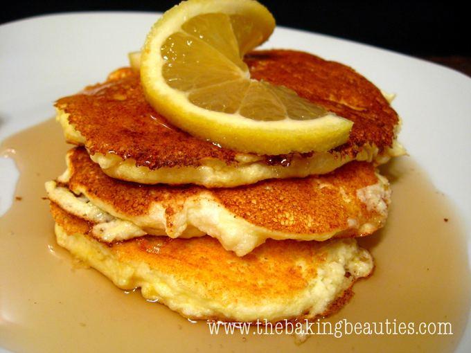 Gluten Free Ricotta Lemon Pancakes