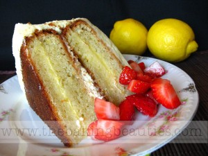 Gluten-free Layered Lemon Cake