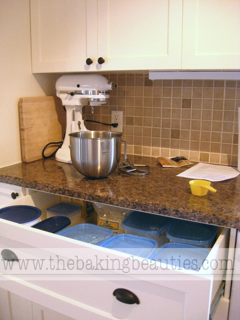 DIY Kitchen Renovation - The Baking Center | The Baking Beauties