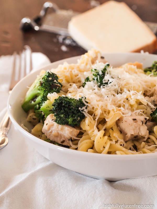 Gluten Free Pasta With Chicken And Pesto Faithfully Gluten Free