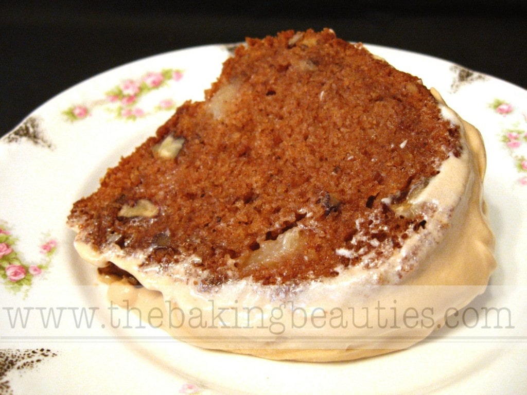 Gluten-free Spice Cake with Maple Cream Cheese Glaze | The Baking Beauties