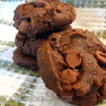 Double Choco Chunk Cookies