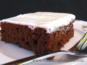 Gluten-free Chocolate Pumpkin Sheet Cake