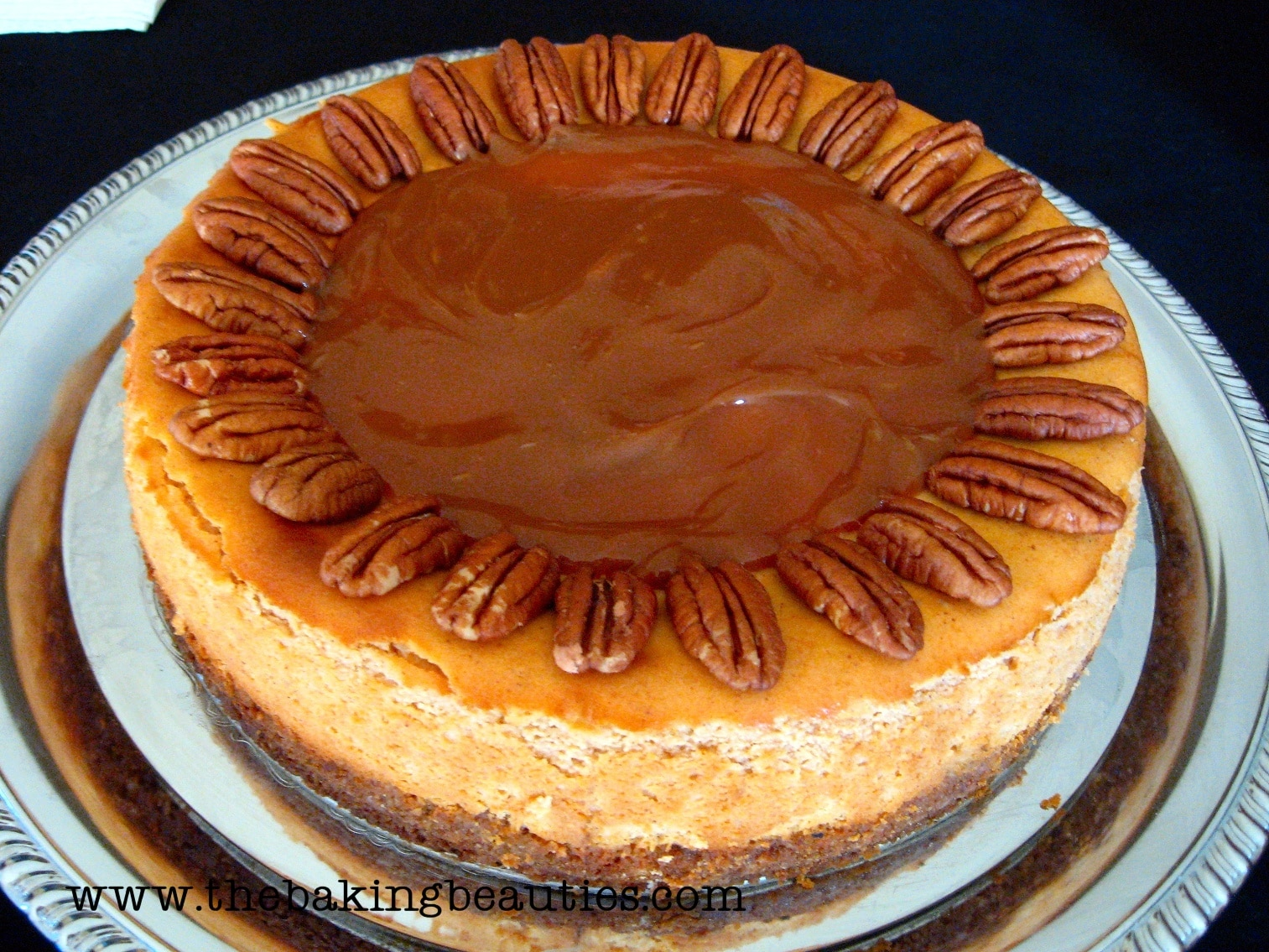 Gluten-free Pumpkin Cheesecake by the Baking Beauties