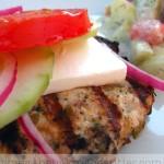 Greek-Style Turkey Burgers