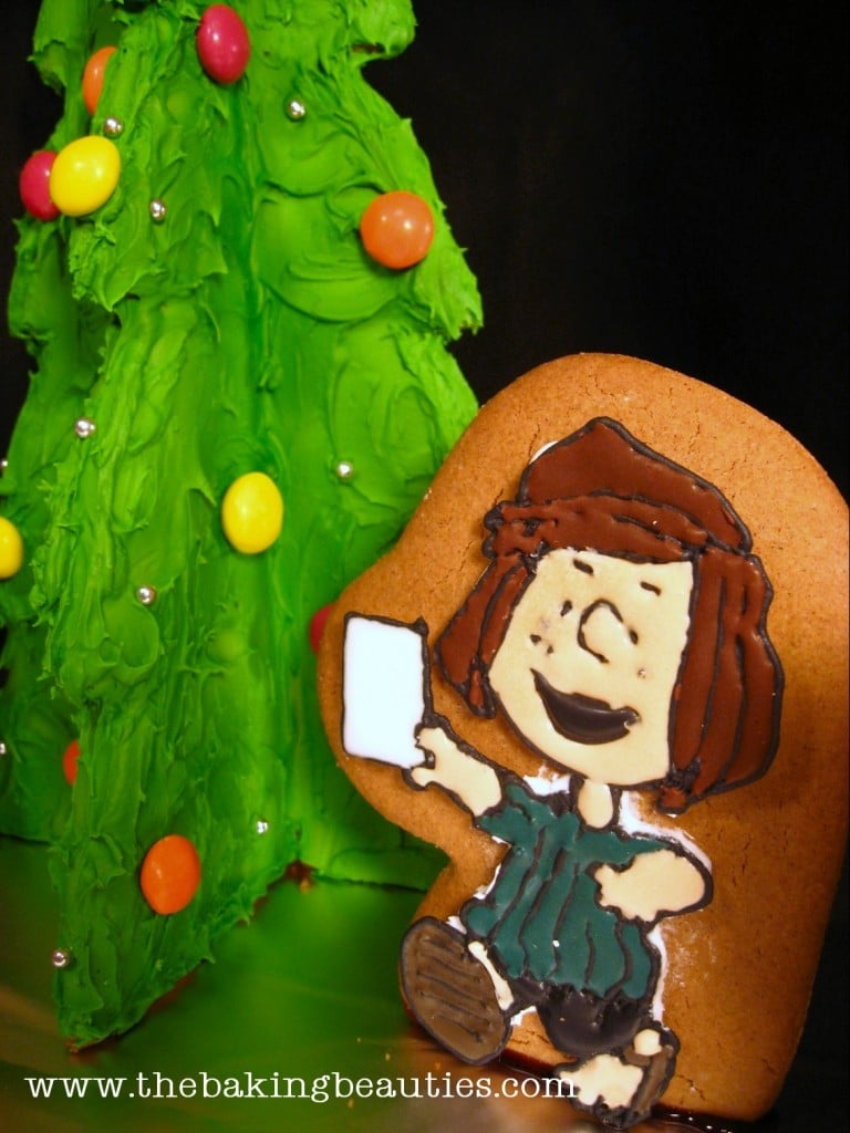 Gluten-free Charlie Brown Gingerbread | The Baking Beauties
