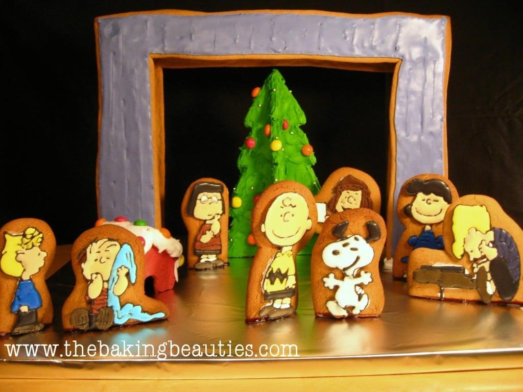 Gluten-free Charlie Brown Gingerbread | The Baking Beauties