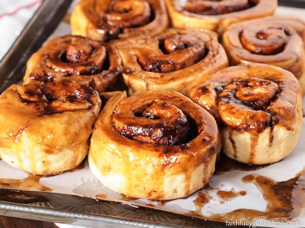 These are the Best Gluten Free Cinnamon Buns you'll find, I promise! Soft, sweet, sticky, and as good as that wheat-based cinnamon bun from your past.
