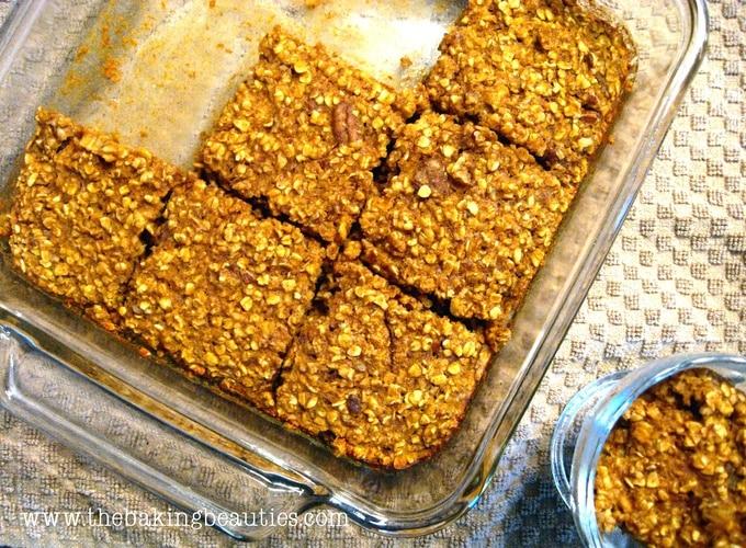 Baked Pumpkin Crunch Oatmeal