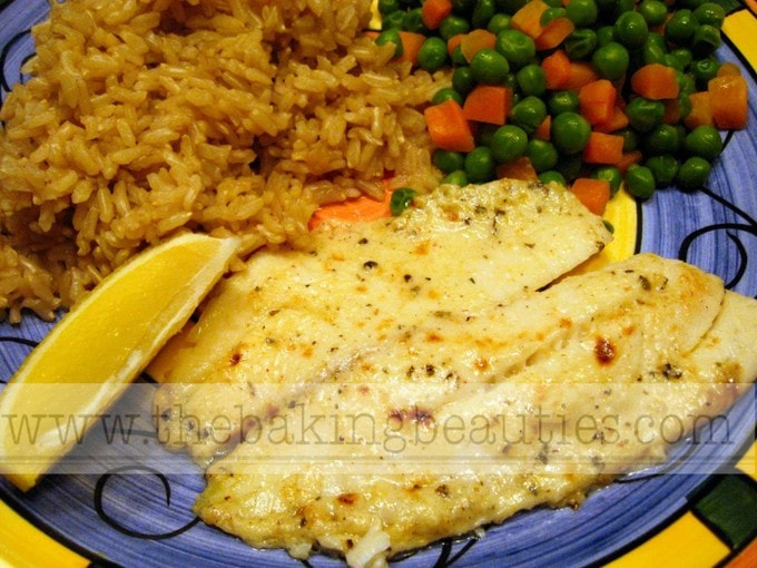 Broiled Tilapia Parmesan (gluten-free) | The Baking Beauties