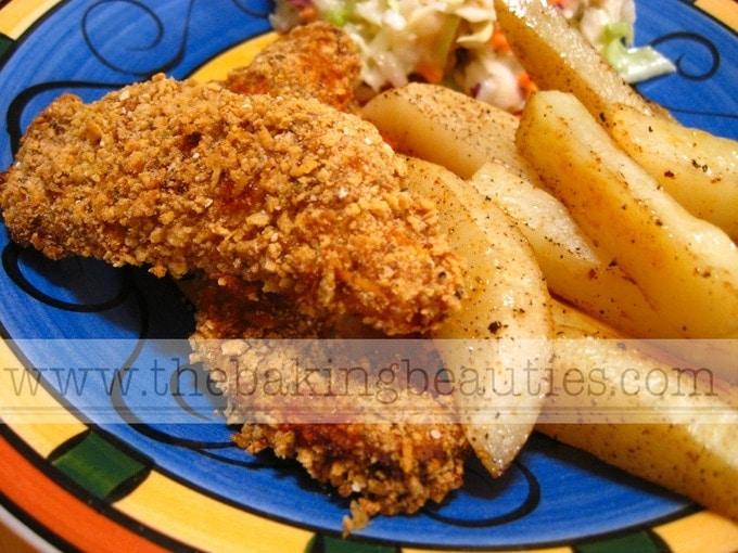 The Best Gluten-Free Chicken Fingers (Baked, not Fried!) - The Baking ...
