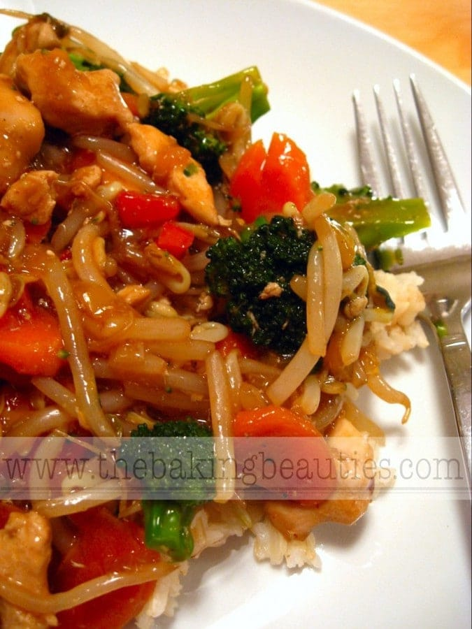 Gluten-free Chicken Stirfry | The Baking Beauties