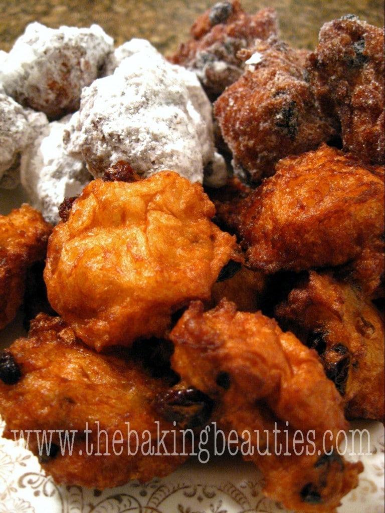 Gluten-free New Years Cookies (Portzelky) | The Baking Beauties