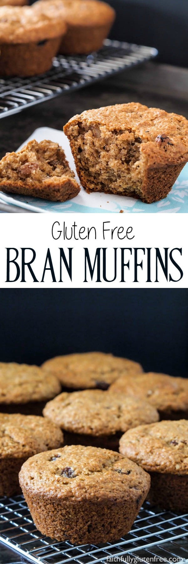 These Gluten Free Raisin Bran Muffins are legit - just like you would have eaten before eating gluten free.
