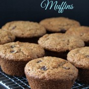 Gluten Free Raisin Bran Muffins from The Baking Beauties