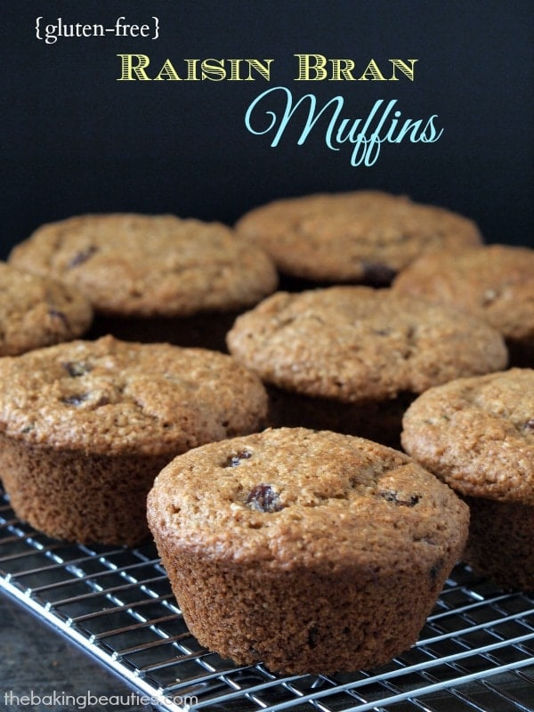 Gluten Free Raisin Bran Muffins - The Baking Beauties