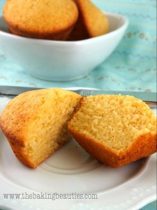 Light Gluten free Buttermilk Cornbread Muffins