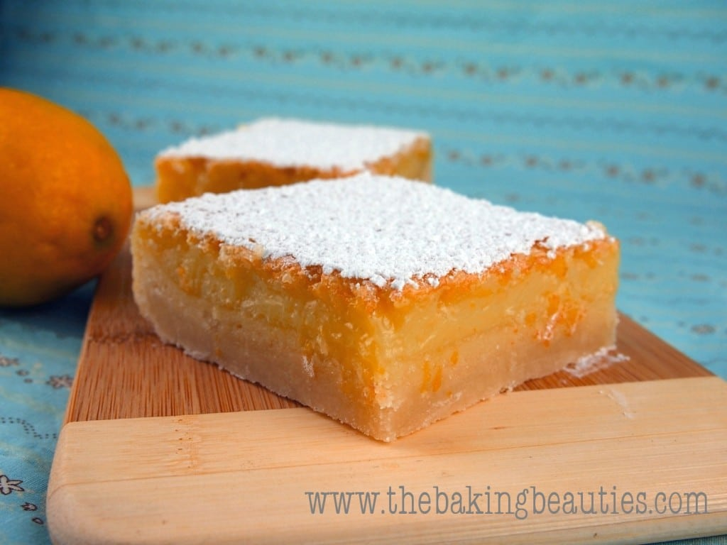 Thick, Tangy Gluten-free Lemon Bars | The Baking Beauties
