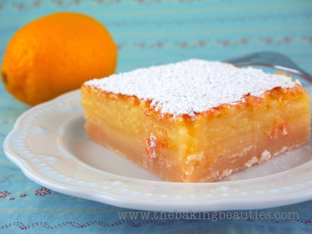 Thick, Tangy Gluten Free Lemon Bars